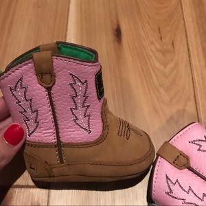 **HOST PICK 10/16!** NEW John Deere boots! Size 0